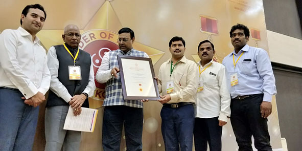 NATIONAL SKOCH AWARD TO KAUSHAL GODAVARI