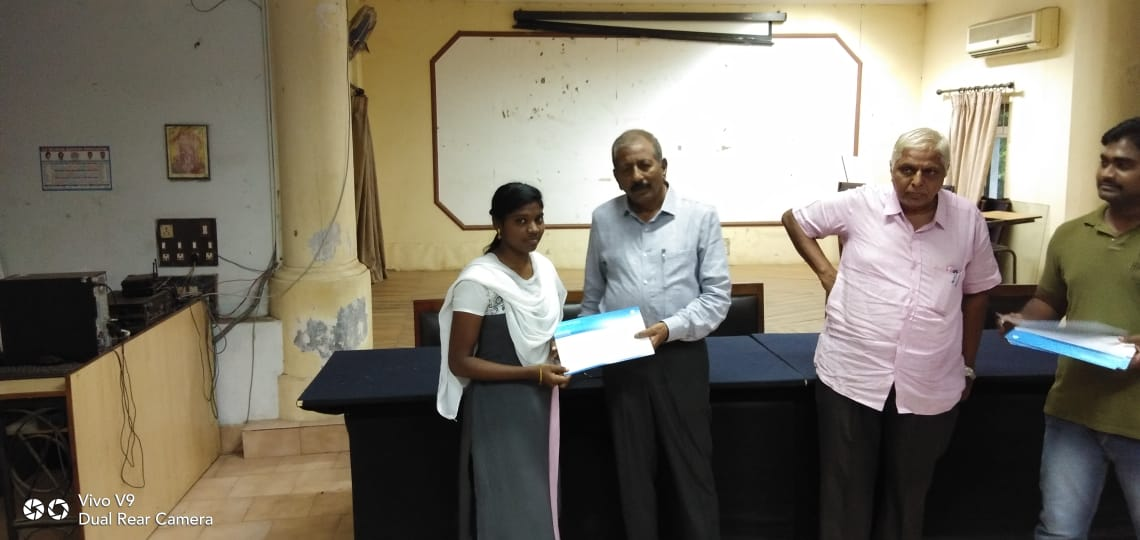 TCS TRAINIING  CERTIFICATES DISTRIBUTION